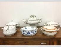 Zuppiere in ceramica provenienza Bassano, Bavaria e Repubblica Ceca
