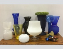 Assortimento vasi in vetro