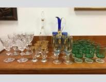 Servizi bicchieri in vetro